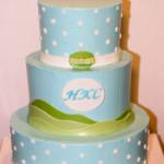 Christening religious ceremony cake