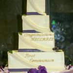 Confirmation religious ceremony cake