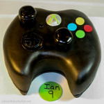 Xbox video game controller boy birthday cake