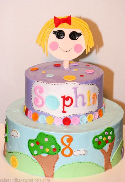 Pleasant Lalaloopsy Girl Birthday Cake Cakes Bakes Personalised Birthday Cards Rectzonderlifede