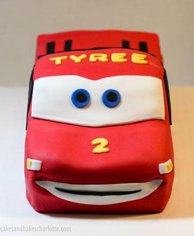 Lightning McQueen car birthday cake Cakes Bakes