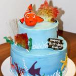 Nemo birthday cake