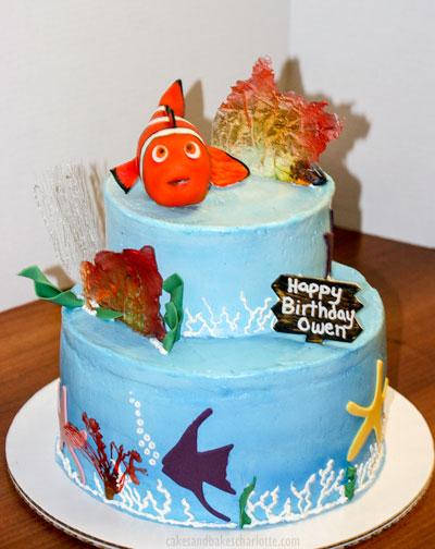 Magnificent Nemo Birthday Cake Cakes Bakes Funny Birthday Cards Online Alyptdamsfinfo