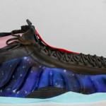 Nike galaxy sneaker cake