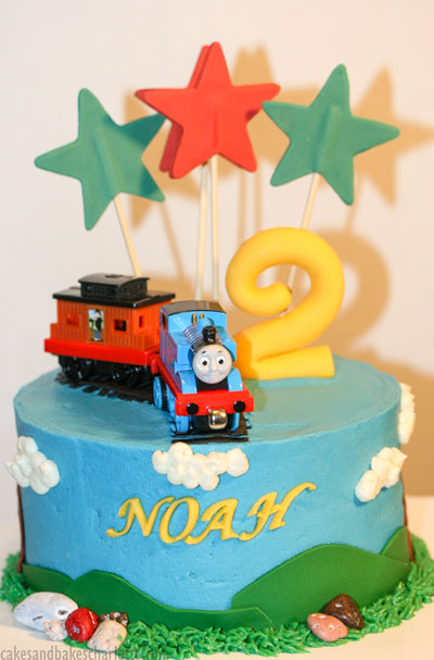 Super Thomas Train Birthday Cake Cakes Bakes Funny Birthday Cards Online Sheoxdamsfinfo