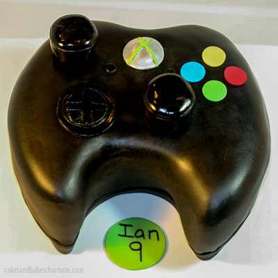 Awesome Xbox Controller Boy Birthday Cake Cakes Bakes Birthday Cards Printable Trancafe Filternl